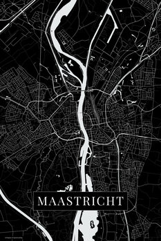 Mapa Maastricht black