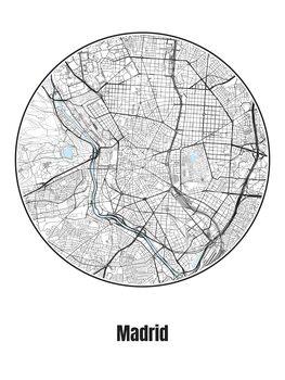 Map Madrid