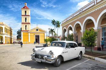 Umelecká fotografie Main square of Santa Clara