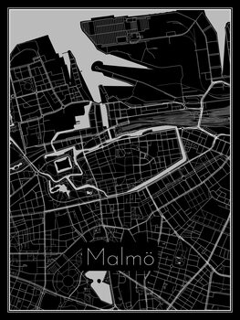 Mapa de Malmö