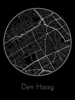 Ilustrace Map of Den Haag