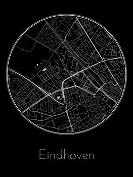 Illustration Map of Eindhoven