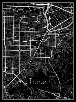 Ilustración Map of Taipei