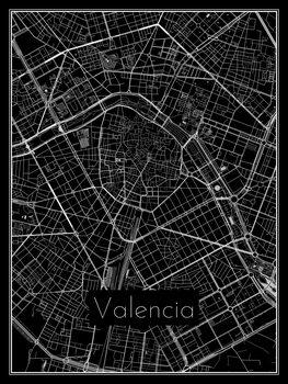 iIlustratie Map of Valencia