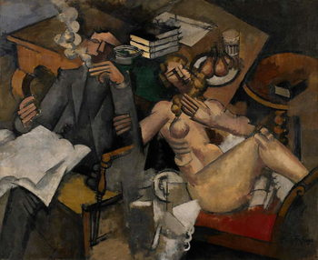 Reproducción de arte Married Life, 1912