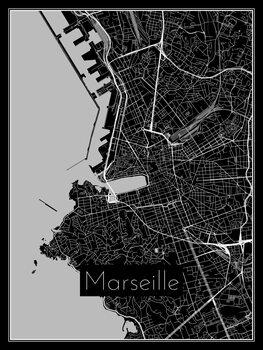 Mapa Marseille