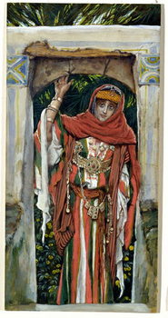 Obrazová reprodukce Mary Magdalene before her Conversion, illustration for 'The Life of Christ', c.1886-96