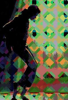 Michael J 1, 2013 Kunstdruk