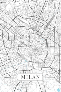 Harta Milan white