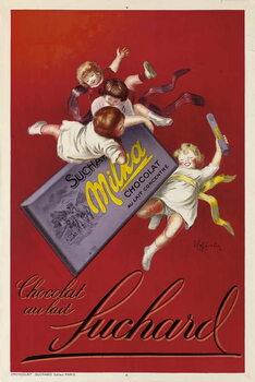 Konsttryck Milka chocolates by Suchard
