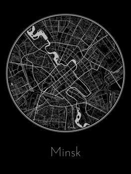 Mapa Minsk