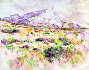 Εκτύπωση έργου τέχνης Mont Sainte-Victoire from Les Lauves, 1902-06
