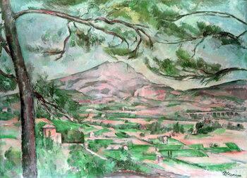 Artă imprimată Montagne Sainte-Victoire with Large Pine