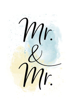 iIlustratie Mr. & Mr.