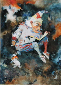 Obrazová reprodukce Mr. Punch with Diary and Toby, 1988