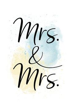 Illustration Mrs. & Mrs.