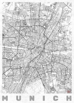 Mapa Munich