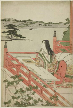 Obrazová reprodukce Murasaki Shikibu, 1779 - 1789