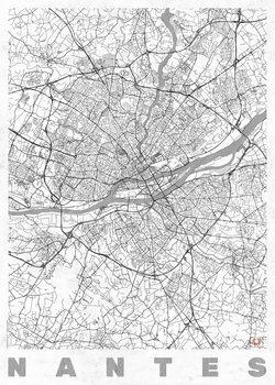 Mapa Nantes