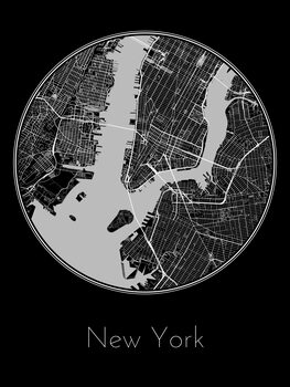 Mapa New York