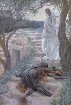 Noli Me Tangere, illustration for 'The Life of Christ', c.1884-96 Kunstdruck