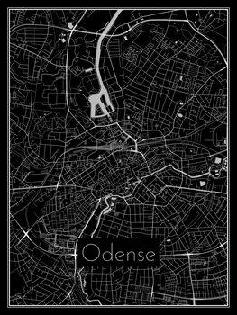 Mapa de Odense