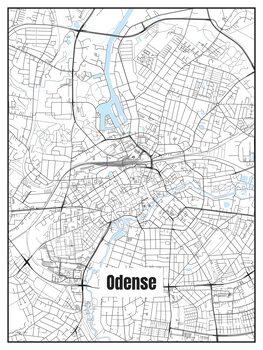 Mapa Odense