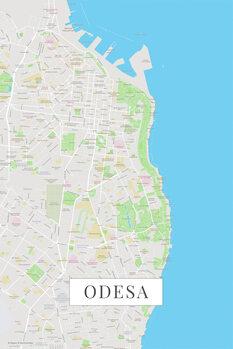 Mappa Odessa color