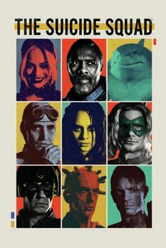 Umjetnički plakat Odred otpisanih 2 - Crew II