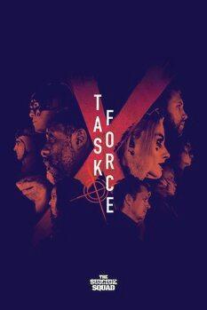 Umjetnički plakat Odred otpisanih - Task force X
