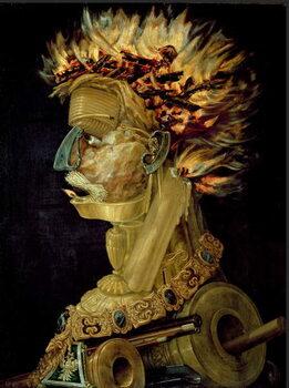 Obrazová reprodukce Oheň