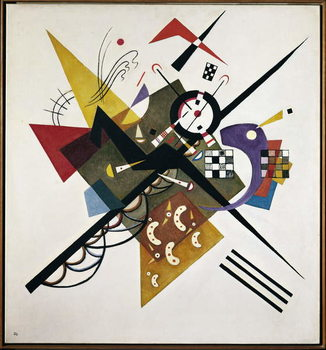 On White II, 1923 Reproduction de Tableau
