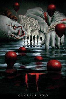 Umjetnički plakat Ono: Drugo poglavlje - Pennywise