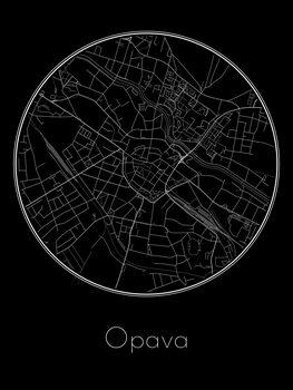 Mapa Opava
