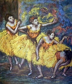 Obrazová reprodukce Painting titled 'Four Dancers'