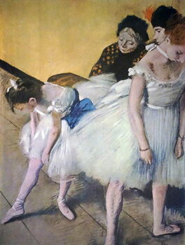 Obrazová reprodukce Painting titled 'The Dancing Class'