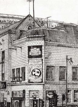 Obrazová reprodukce Palace Theatre Manchester, 2013,