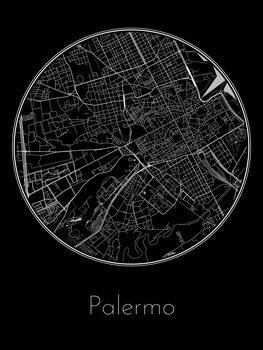 Mapa Palermo