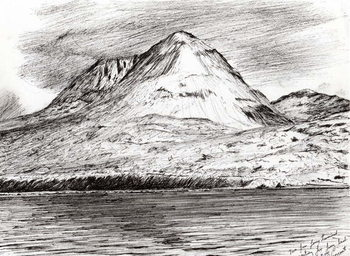 Paps of Jura, 2005, Kunstdruck