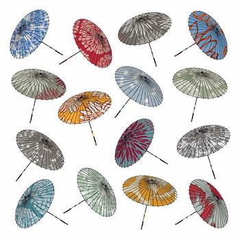 Obrazová reprodukce Parasols, 2012