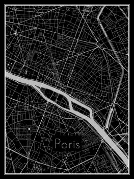 Mapa Paris