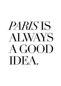 Ilustrácia Paris is good idea