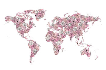 Illustrazione Peony map