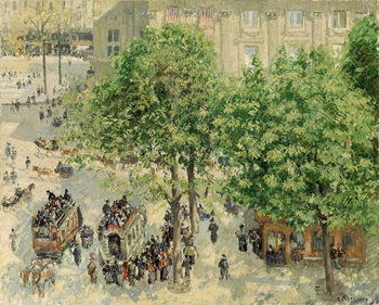 Obrazová reprodukce  Place du Theatre-Francais, Spring, 1898