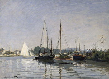 Pleasure Boats, Argenteuil, c.1872-3 Reproduction de Tableau