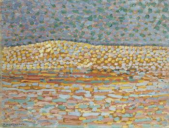 Obrazová reprodukce Pointillist Dune Study, Crest at Left, 1909