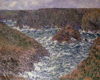 Port Domois at Belle Ile, 1886 Kunsttryk