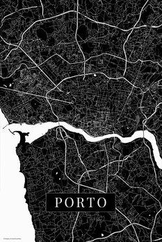 Harta Porto black