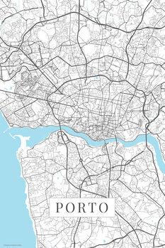 Harta Porto white