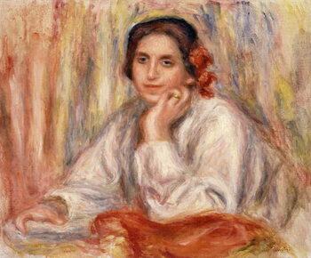 Umelecká tlač Portrait de Vera Sergine Renoir, 1914